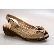 Sandale dama PASS QM065 701 BEJ