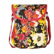 Vivinkaa Yellow Camo Canvas Sling Bag for Women