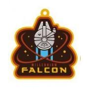 Star Wars Episode Vii Porte-Clés Caoutchouc Millennium Falcon 6 Cm