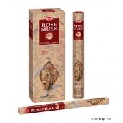 Bețișoare parfumate HEM - Rose Musk