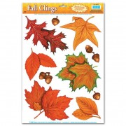 Raamdecoraties Herfstbladeren 10 stuks