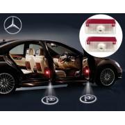 Proiectoare LED Laser Logo Holograme cu Leduri Cree Tip 4, dedicate pentru Mercedes GLK Class (2008+)