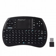 Mini KeyboardiPazzPort KP-810-21S Fly Air Mouse 2.4GHz RF Wireless Multifunctional Hand-held Keyboard with Touchpad for Android TV Box and Raspberry Pi 3 and HTPC