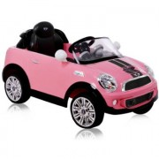 ROLLPLAY Mini Cooper S Coupe 6V RC, rosa - rosa / pink
