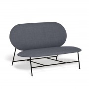 Northern - Oblong Sofa, schwarz / grau (Brusvik 05)
