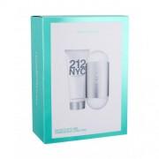 Carolina Herrera 212 NYC set cadou EDT 100 ml + Lapte de corp 100 ml pentru femei