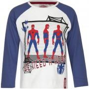 Marvel Spiderman t-shirt wit/blauw voor jongens