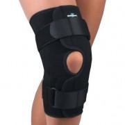 Safe-T-Sport Wrap-Around Hinged Knee Stabilizing Brace, Neoprene, Small, Black Part No. 37-350SMBLK Qty 1