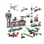 LEGO 9335 Rymd o Flygplatsset från 4 år