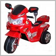 Dečiji motor na akumulator crveni (Model 111 crveni)