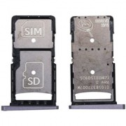 New Sim Tray Holder For Motorola Moto X Force - Grey Colour