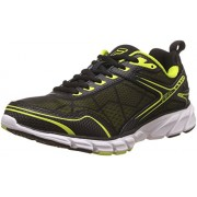 Fila Men's Memory Granted Lime Punch, Black and White Running Shoes -9 UK/India (43 EU)