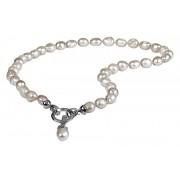 JwL Luxury Pearls Náhrdelník z pravých bílých perel JL0559