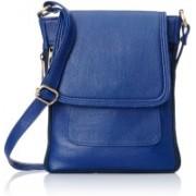 Fourdatr Women Blue Sling Bag