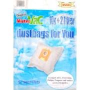 mistervac MV 605 Pack économique de 30 sacs 5 couches en non-tissé, 6 filtres et 4 embouts / comparable aux S-Bag et Swirl PH 86