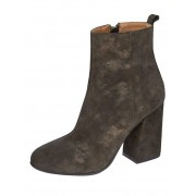 WENZ Stiefelette, Damen, oliv, in changierender Optik
