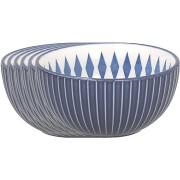 Tognana tál készlet 14cm ALGARVE kék 6db
