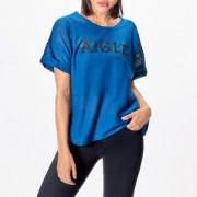Aigle Logo-Mesh-T-Shirt, 40 - Ozean