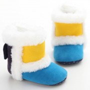 New Hot Mixed Colors Baby Shoes Winter Infant Toddler Girls Boy Snow Super Warm Soft Soled Shoes Boots Baby Moccasins Shoes