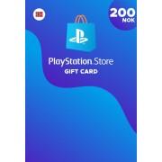Sony Online Entertainment Playstation Network Card 200 NOK (NO) PSN Key NORWAY