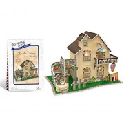CubicFun W3118h France Cottage 3d Puzzle