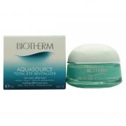 Trattamento occhi biotherm aquasource total eye revitalizer 15 ml