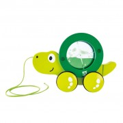 Hape Tito Pull Along Toy Green E0354