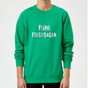 The Christmas Collection Fijne Feestdagen Heren Kersttrui - Groen - M - Kelly Green