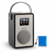 Numan Mini Two Radio internet design WiFi DLNA Bluetooth FM batterie - noir