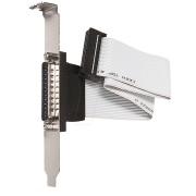 AK 664 - Slotblende, 1x 25pol. D-Sub BU, parallel