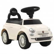 vidaXL Ride-on Car Fiat 500 White