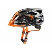 Kaciga Uvex I-Vo C Dark Silver-Orange 56-60 (KAC-S4104170317)