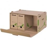Container de arhivare Esselte Eco cu deschidere frontala pt. cutii 80/100