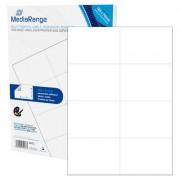 """Etiquetas Adesivas Permanentes Mediarange - 105 x 74mm (400 un)"""
