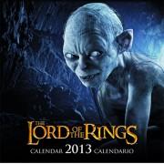calendar la an 2013 bărbaţi inele - Engleză & Spaniolă Versiune - SDTLTR02222