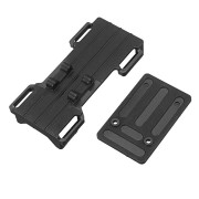 Battery Receiver Floor Assembly For PRC 1/18 Crawler QX-4 Remote Control RC Car Parts
