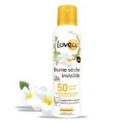 Lovea Brume sèche invisible FPS 50 Haute Protection - Monoï de Tahiti 200 ml