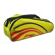 Li-Ning 2-in-1 Thermal Racket Bag(Double Belt) Yellow at lowest Price