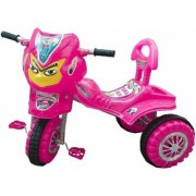 Oh Baby Baby Angry Bird Mask With Color Wheel Pink Musical Tricycle For Your Kids SE-TC-09