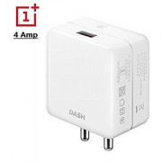 New 4 AMP Dash Charger With Fast Dash Charging Type-C Cable For One Plus 6 / One Plus 6T.