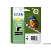 EPSON Yellow Inkjet Cartridge T1594 for Stylus Photo R2000 (C13T15944010)