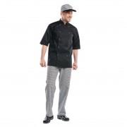 Chaud Devant Hilton Poco koksbuis korte mouw zwart S - S