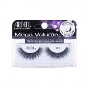 Ardell Mega Volume 252 umělé řasy s 3d efektem 1 ks odstín Black pro ženy