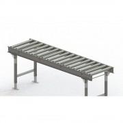 Gura Rollenbahn, Stahlrahmen mit Stahlrollen verzinkt Bahnbreite 500 mm, Achsabstand 125 mm Länge 2 m