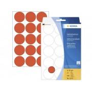 Herma 2272 Etiketter Ø 32 mm Papper Röd 480 st Permanent Markeringsetiketter