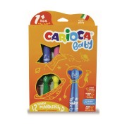 Carioci lavabile 12 culori/set CARIOCA Baby Teddy 1