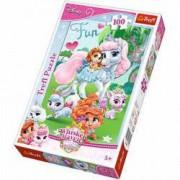 Jucarie Puzzle Palace Pets Whisker Haven 100 pcs Trefl