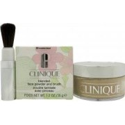 Clinique Blended Face Polvos Sueltos Ligeros Con Brocha 35gr - 20 Invisible Blend