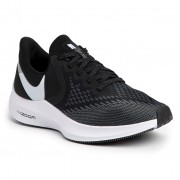 Обувки NIKE - Zoom Winflo 6 AQ7497 001 Black/White/Dark Grey