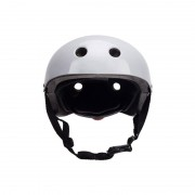 Kinderkraft dečija kaciga za bicikl SAFETY siva